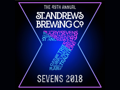 St Andrews Rugby Sevens logo results site